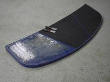 Weathered Moomba Ski Deck
